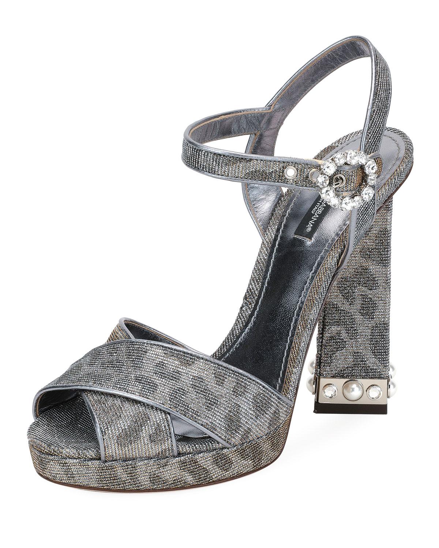 Sandales en lurexDolce & Gabbana VIMtcM55