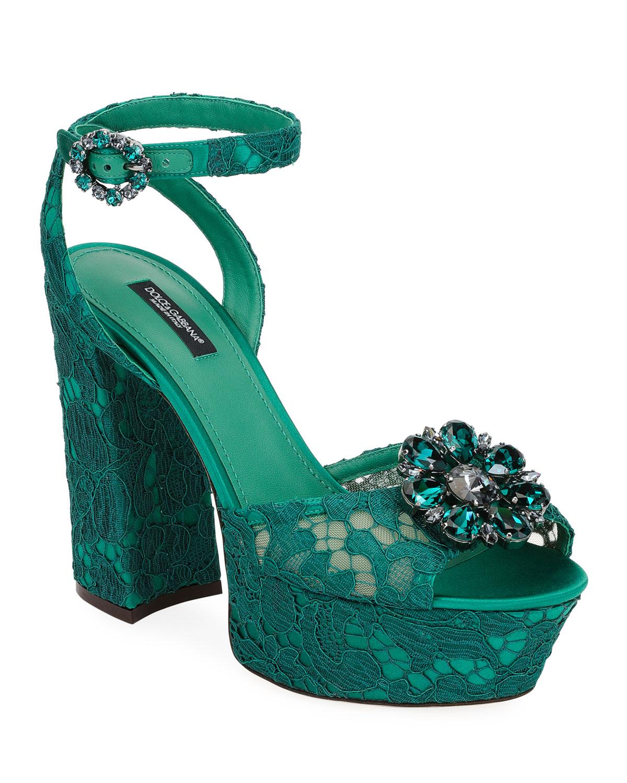 Sandales en lurexDolce & Gabbana VxGm7U