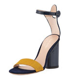 Kimly Chic City Colorblock Sandal