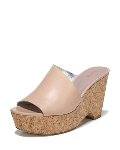 Bonnie Wedge Platform Slide Sandal