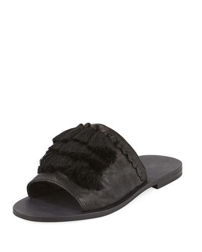 RIley Tassel Slide Sandal