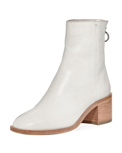 Emilia Short Leather Bootie