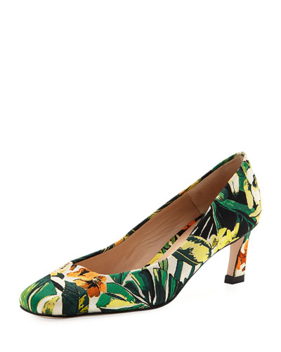 Chelsea New Look Botanic Jacquard Pump