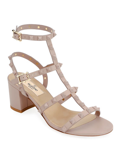 Rockstud Smooth Calf Sandal