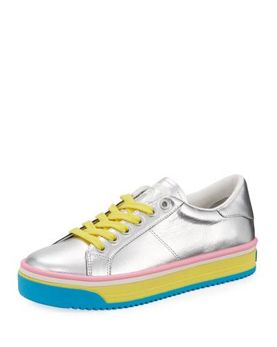 Empire Multicolor-Sole Metallic Sneaker