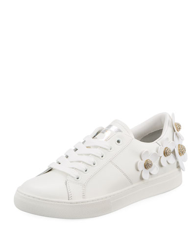 Daisy Leather Platform Sneaker