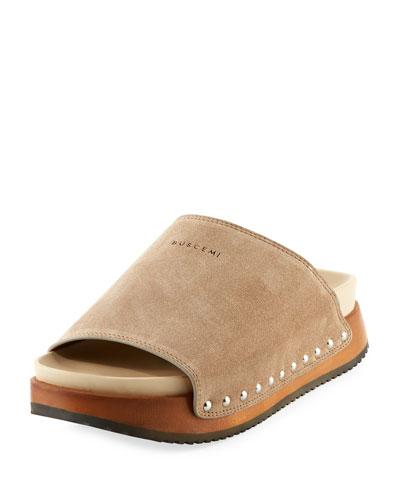 Topanga Platform Mule Sandal
