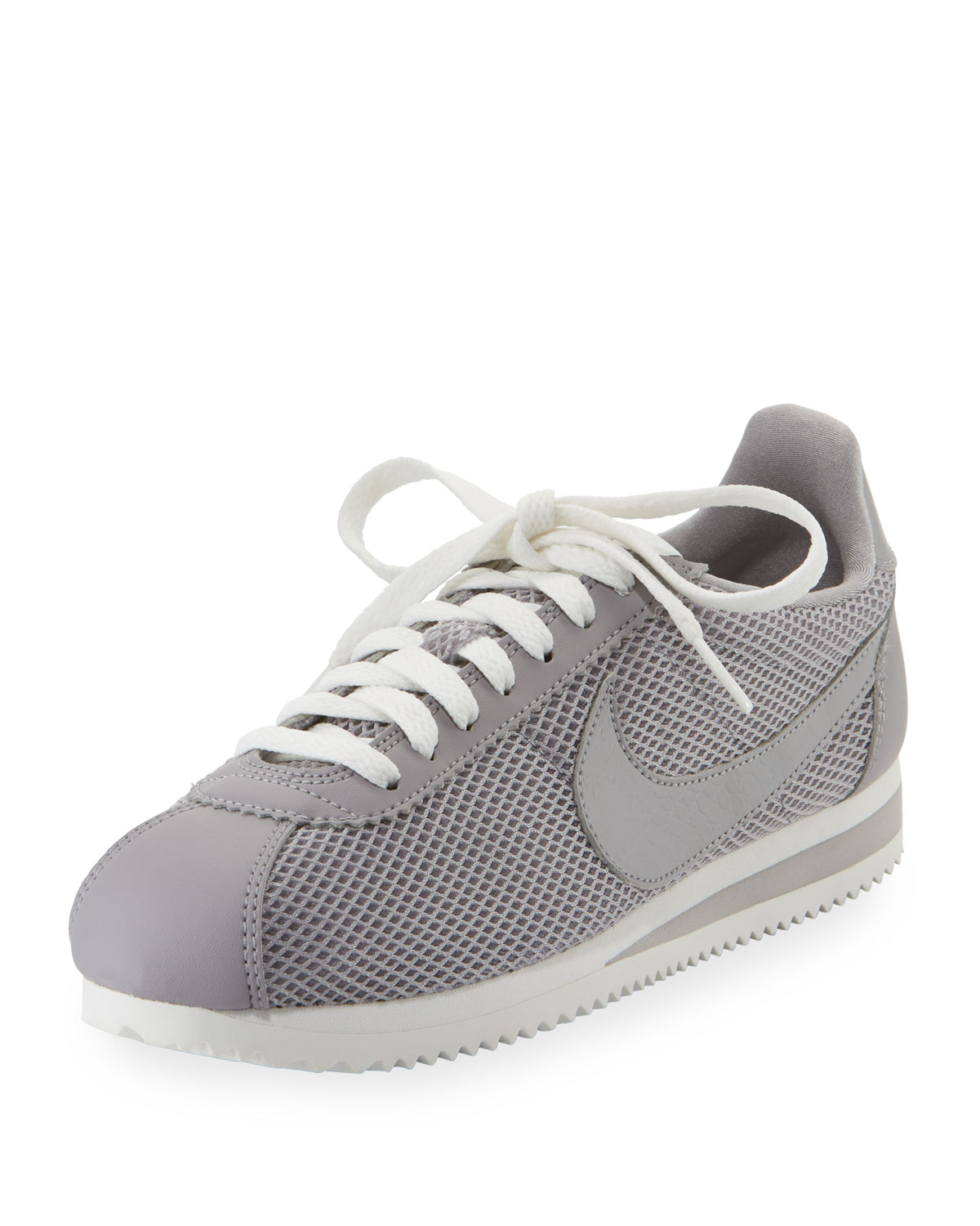 Women'S Classic Cortez Mesh Lace Up Sneakers, Atmosphere Grey