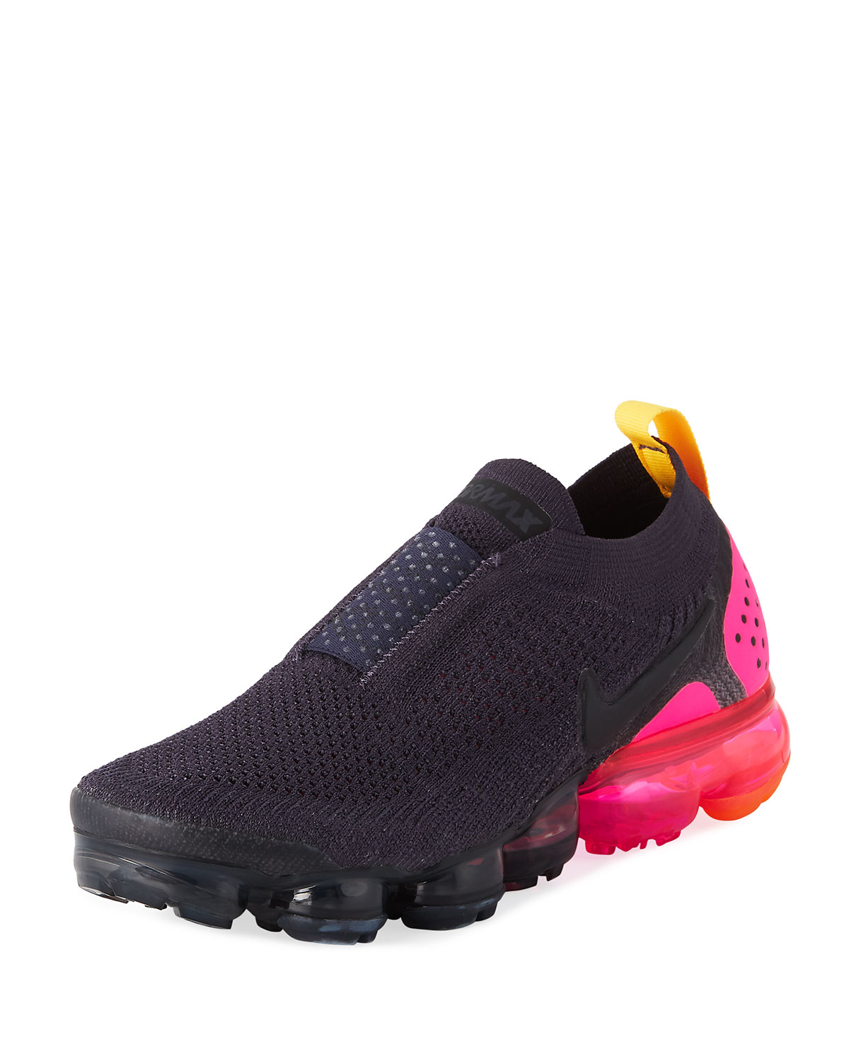 Women'S Air Vapormax Flyknit Moc 2 Running Shoes, Black, Black/Black