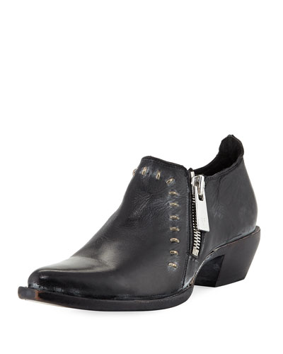 Sacha Rebel Short Ankle Boot