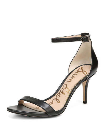 Patti Leather d'Orsay Sandal