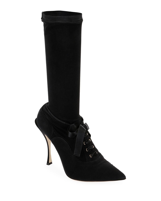 Stretch Lace BootDolce & Gabbana vwimhJWitY