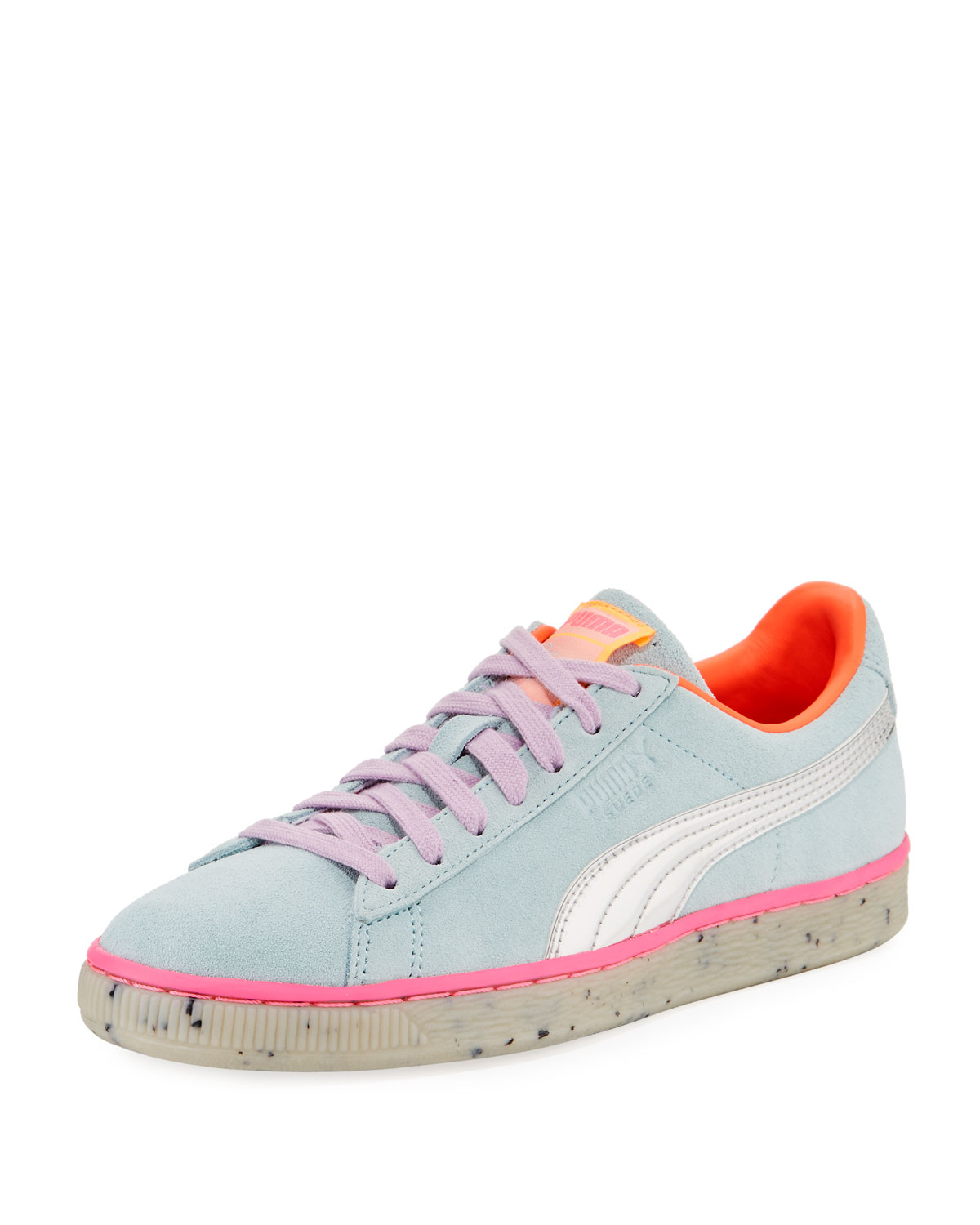 PUMA X SOPHIA WEBSTER CANDY PRINCESS SUEDE SNEAKERS 3bbe99d3f
