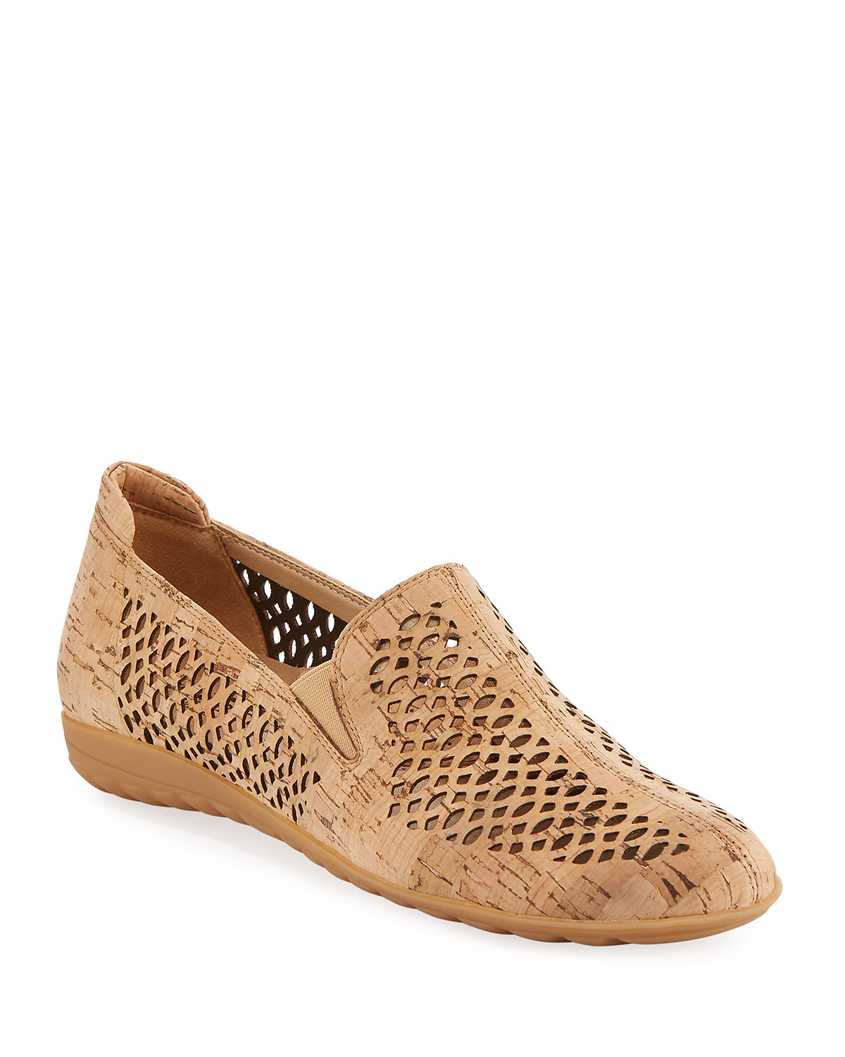 0406a3c985b SESTO MEUCCI Byra Perforated Cork Comfort Loafer