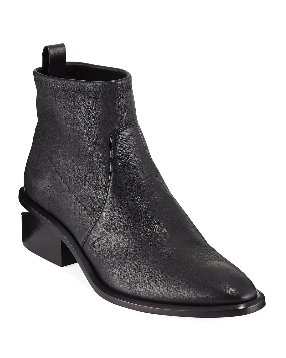 Kori Stretch Leather Booties