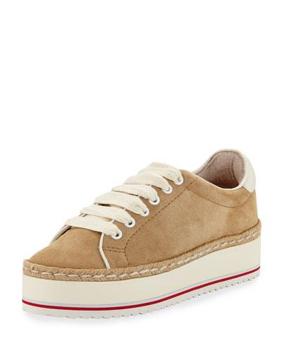 Dabnis Suede Platform Low-Top Sneaker