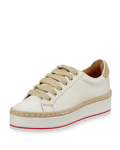 Dabnis Leather Platform Low-Top Sneaker