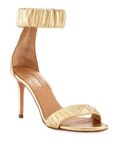 a6df1c3ef8c Gold Evening Shoes