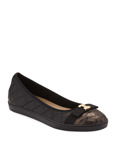 d5dd75a725efb Leather Ballerina Shoes