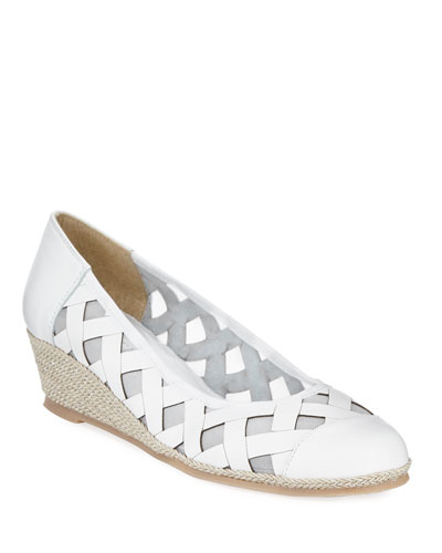 Myra Napa Wedge Espadrille Pumps