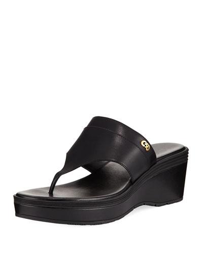 Cecily Grand Wedge Thong Sandal