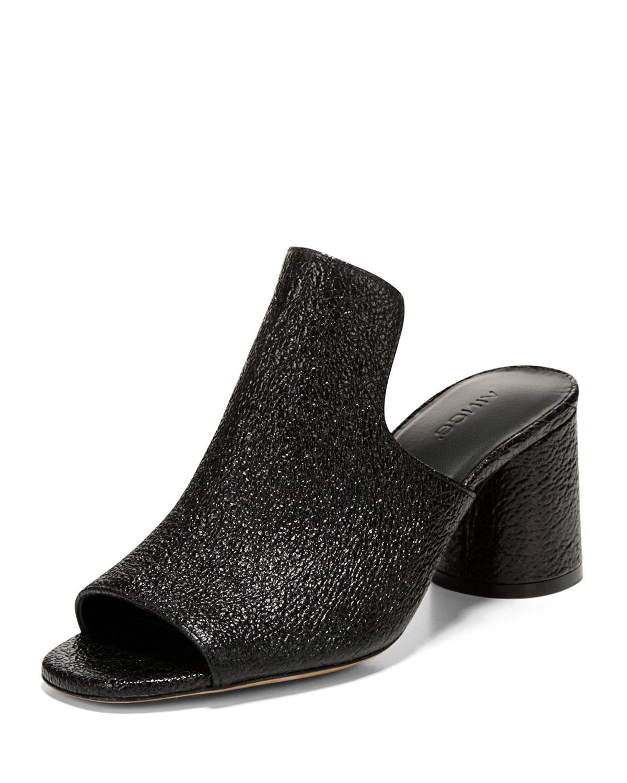Vince Women's Tanay Suede High-Heel Slide Sandals xGZol05k