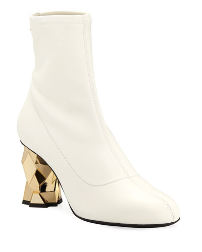 506127026e19c Block Heel White Shoes