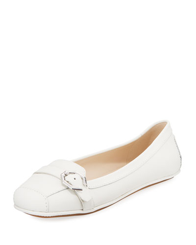 Demi Leather Flat Driver Loafer