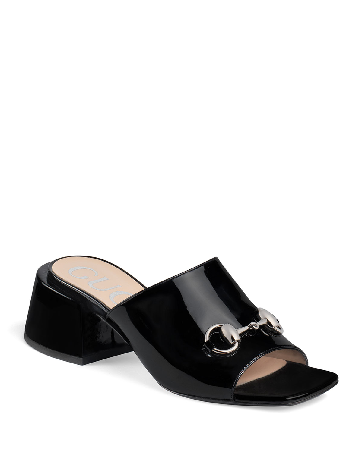 Lexi 55mm Patent Leather Slide