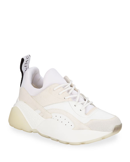 Stella McCartney Eclypse Platform Lace-Up Sneakers