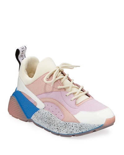 38c4d608a473 Quick Look. Stella McCartney · Eclypse Colorblock Lace-Up Sneakers.  Available in Pink