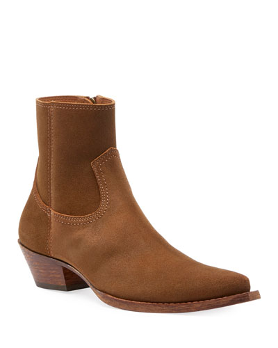 Lukas West Wyatt Suede Ankle Boots