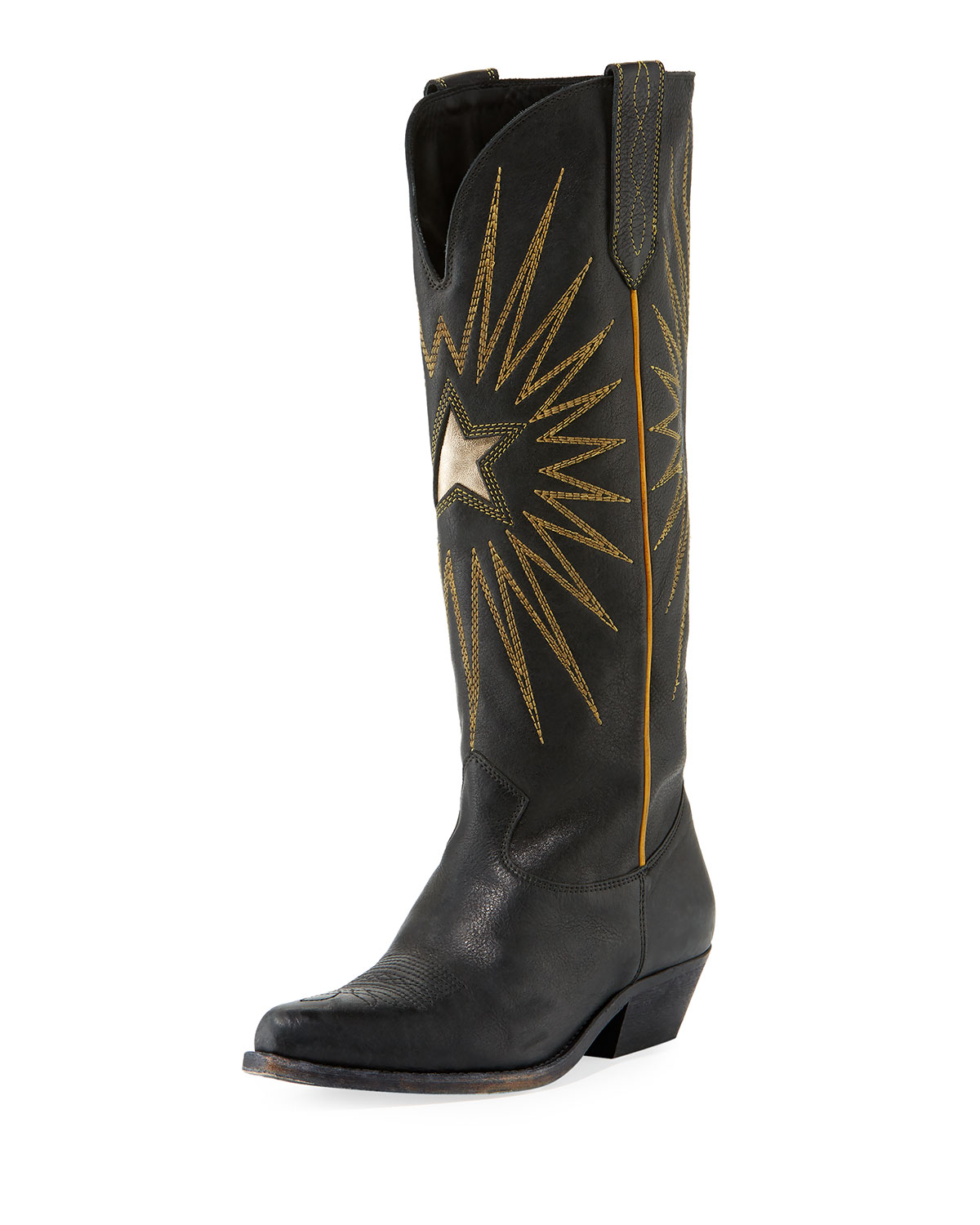 Wish Star Cowboy Knee Boot