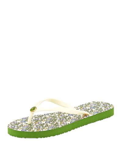 Thin Platform Printed Sandal