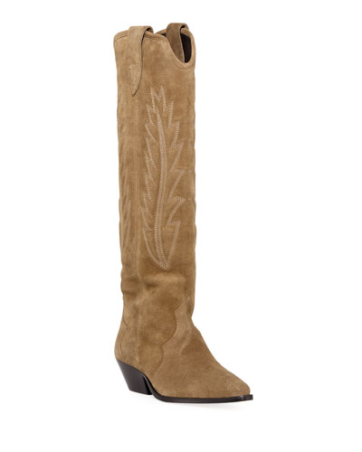 fab0855a54 Pointed Toe Knee Boot | Neiman Marcus