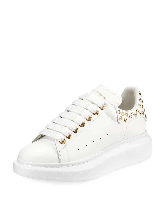 Pelle Studded Low-Top Platform Sneakers