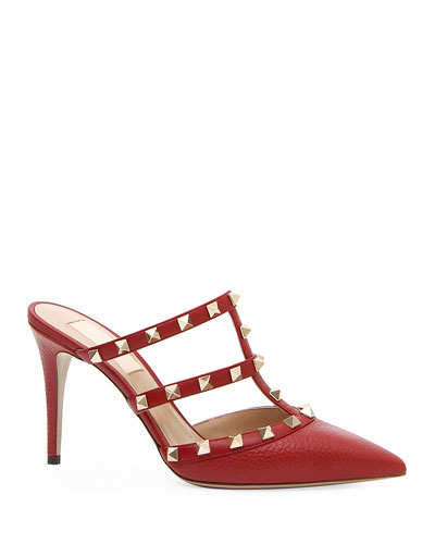 3eceb78647b3 Quick Look. Valentino Garavani · Rockstud Leather Mule Slide