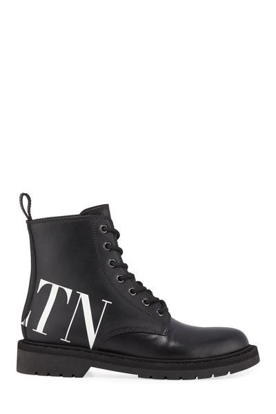 754f6929aef Quick Look. Valentino Garavani · VLTN Leather Combat Boots