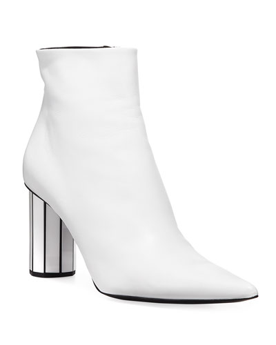 1c90d55697 Block Heel Smooth Boot | Neiman Marcus