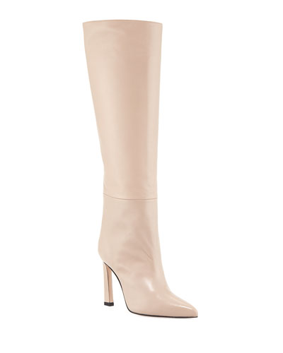 Aces Luxe Leather Knee Boots