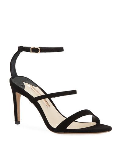 d55621b2f9c Quick Look. Sophia Webster · Rosalind Strappy Suede Mid-Heel Sandal
