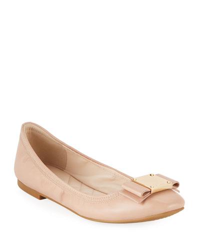 Tali Modern Grand Bow Ballet Flats