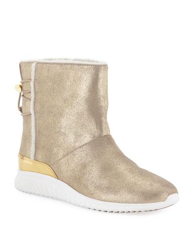 StudioGrand Waterproof Slip-On Boots, Sand