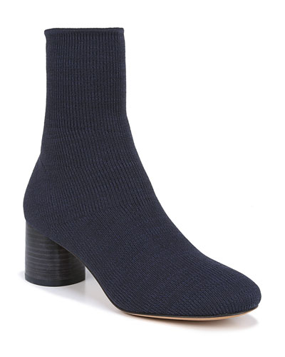 Tasha Stretch-Knit Booties