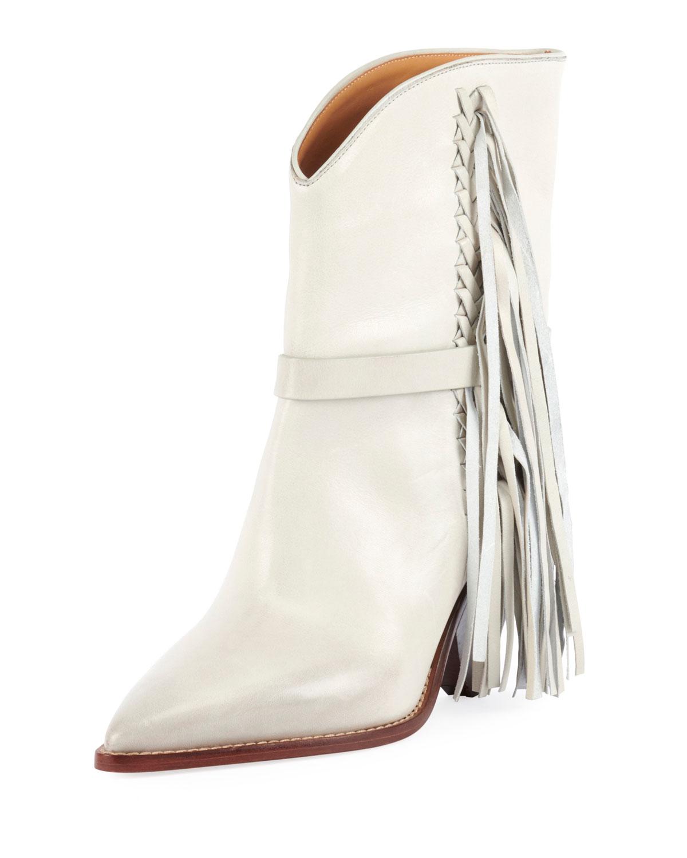 Loffen Low-Heel Fringe Boot