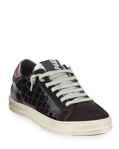 5715f9f52ca Black Embossed Sneaker