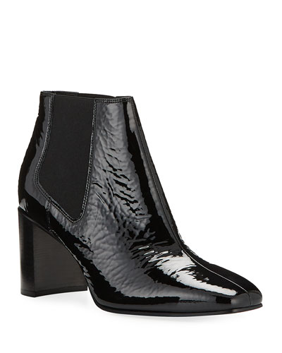 24b19757cb7 Quick Look. Rag   Bone · Aslen Mid-Heel Patent Chelsea Booties. Available in  Black