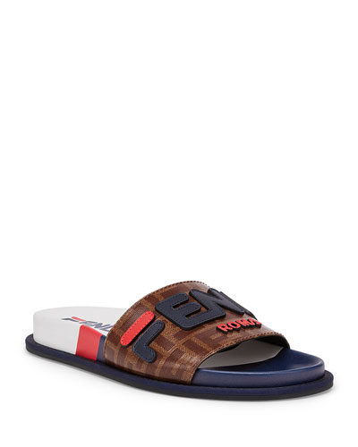f8ee0633de9f Quick Look. Fendi · Fendi FF Slide Sandals