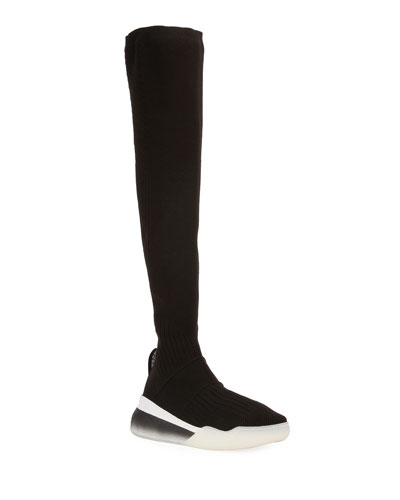 Over-The-Knee Stretch Sneaker Boot