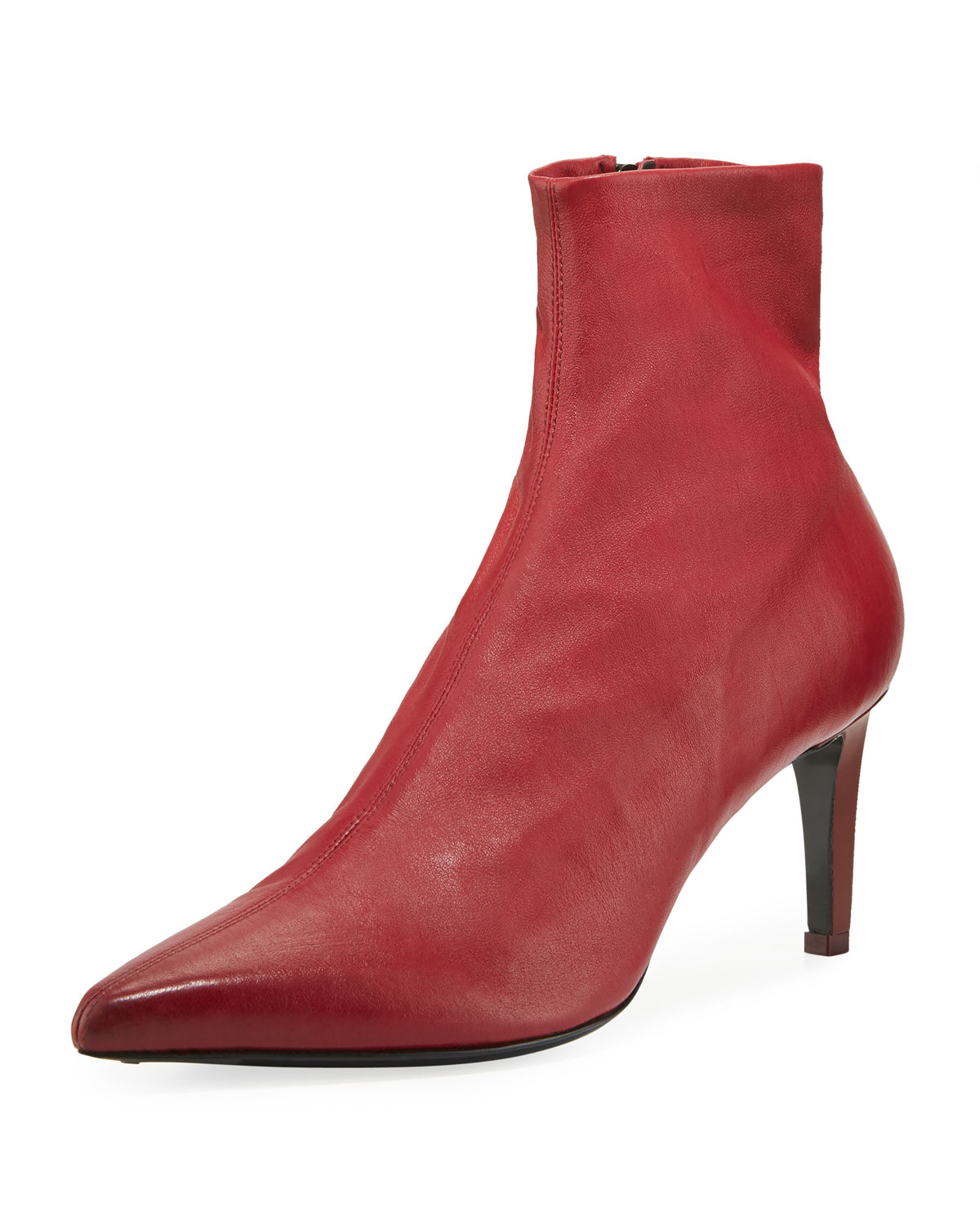 Beha Stretch Leather Booties